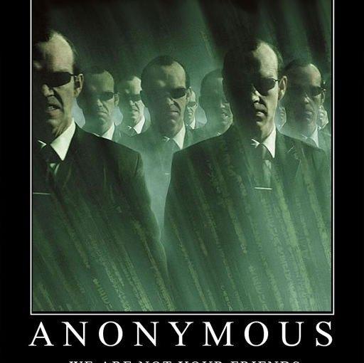 Anonymous behöver skärpa ihop sig