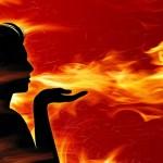 Music-Girl-First-Love-Fire-Wallpaper