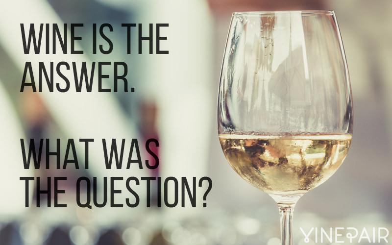 20 Funny Quotes Only Wine Lovers Will Understand   VinePair Wine Is A Given