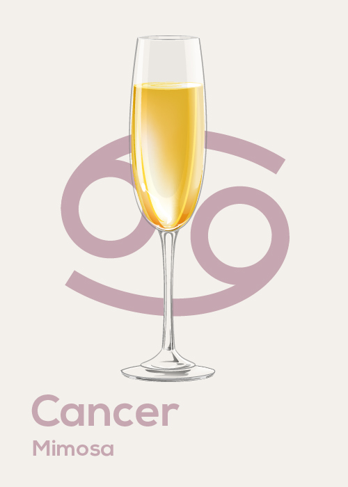 Here's Your April Horoscope and Drink Pairing Cancer