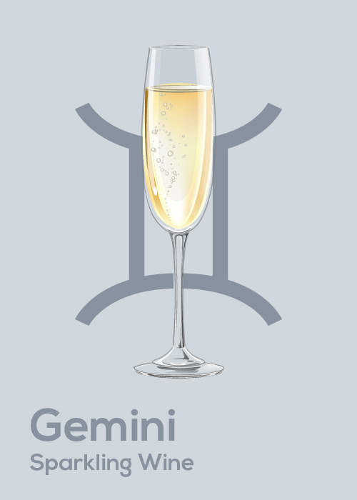 Here's Your April Horoscope and Drink Pairing Gemini