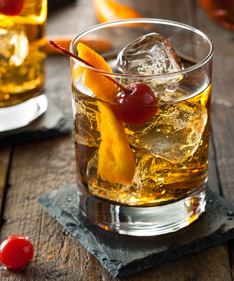 The Best Cocktails to Order at a Basic Wedding Bar Old Fashioned