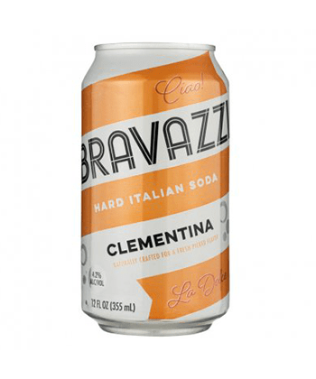 Bravazzi Hard Italian Soda Clementina Is One of the Best Canned Cocktails for Summer 2020