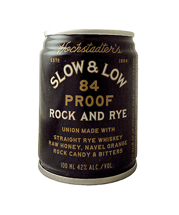 Hochstadter's Slow & Low Rock and Rye Is One of the Best Canned Cocktails for Summer 2020