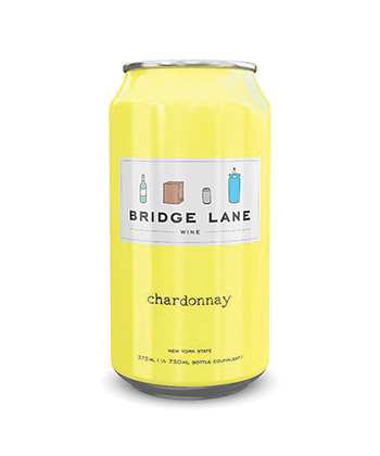 Bridge Lane Chardonnay is one of the best canned wines for Summer 2020