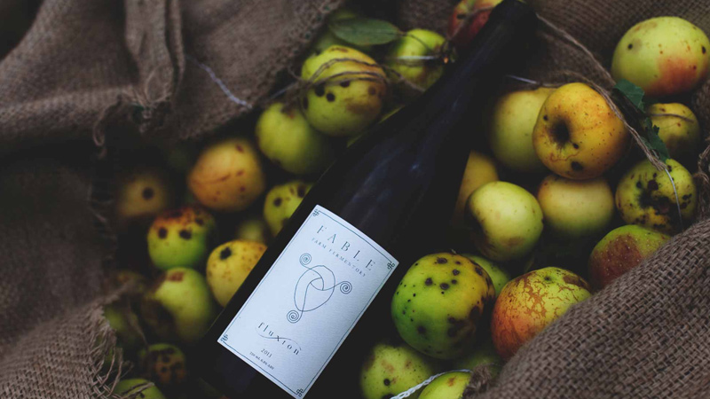"""Fable Farm Fermentory makes """"dry, alpine white wine"""" with apples"""