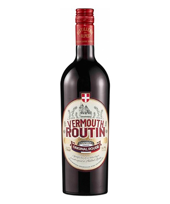 Vermouth Routin Original Rouge is one of the best vermouths for mixing Negronis.