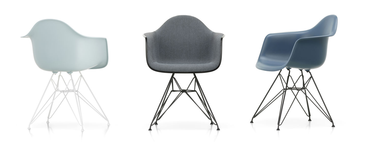 This is a pair of used, black original plastic vitra eames side shell, which comes with a used, orig. Vitra Eames Plastic Armchair Dar Official Vitra Website