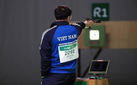 shooter hoang xuan vinh wins historic gold medal at rio olympics 2016 hinh 0