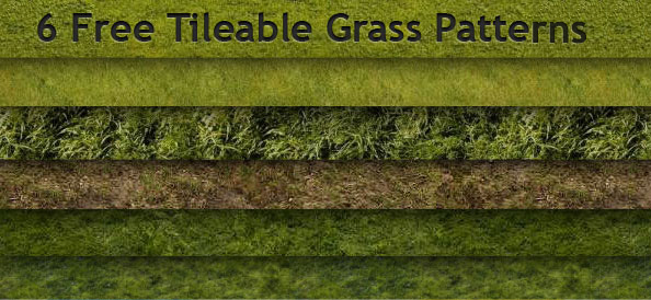 6 Tileable Grass Patterns