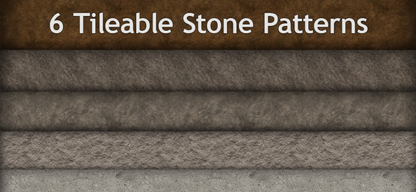 6 Tileable Stone Patterns