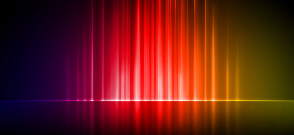 Colorful Lined Backgrounds with Reflection