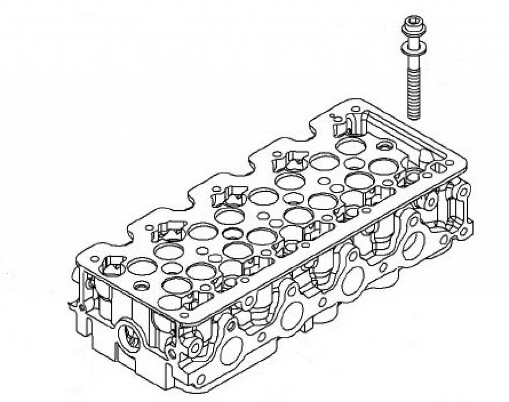 Screw Cylinder Head M12x108 Opel Astra H Astra J Corsa D