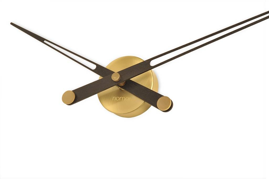 Nomon Axioma N Gold Wooden Hands Only Clock