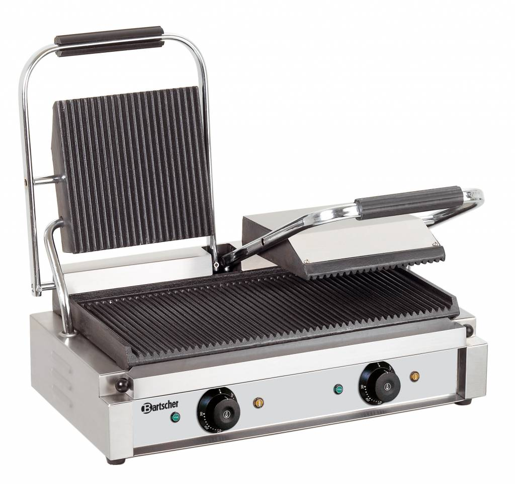 Bartscher Electric Double Contact Grill Grill Plates