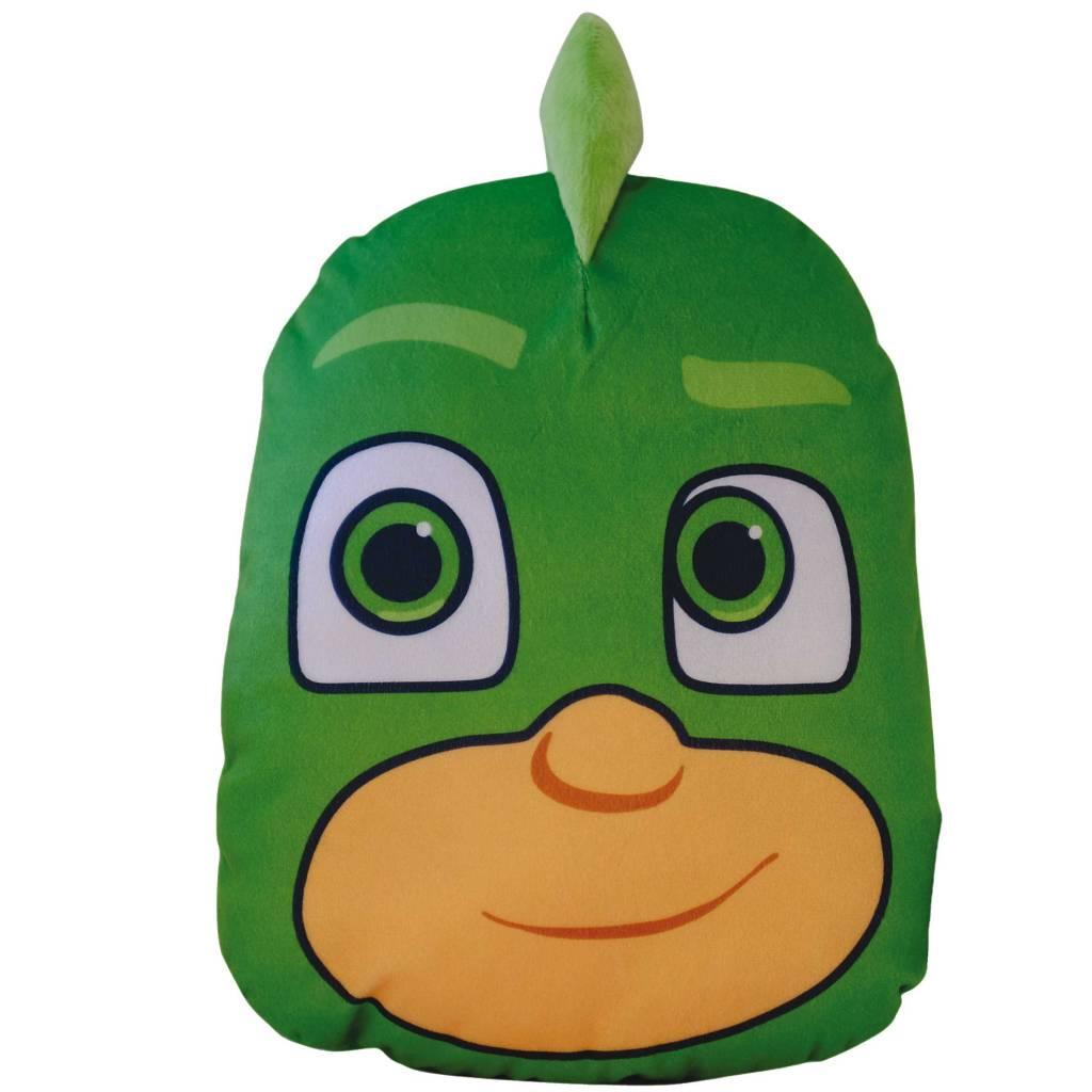 PJ Masks 3D Gekko Cushion 30 X 25 X 8 Cm Green SimbaShopnl