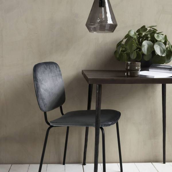 House Doctor Comma chair grey LIVING AND CO