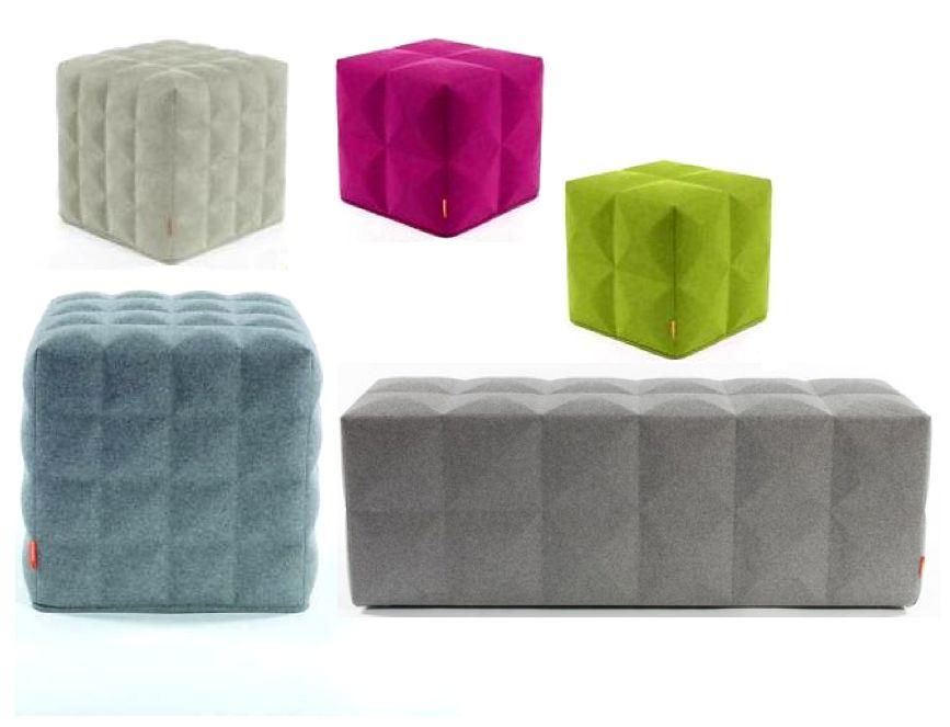 BuzziCube 3D Pouf Acoustique Brand New Office