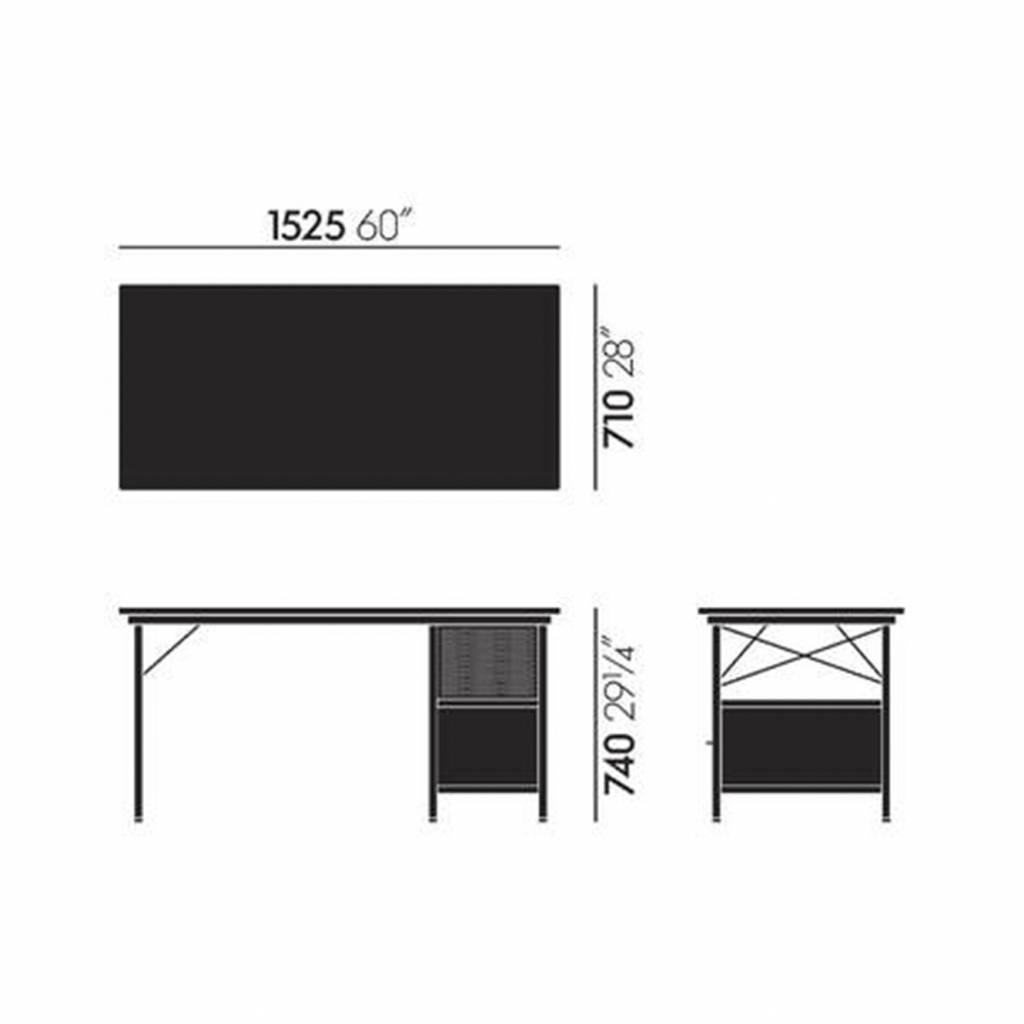 Herman Miller Eames Desk Unit Gr Canada