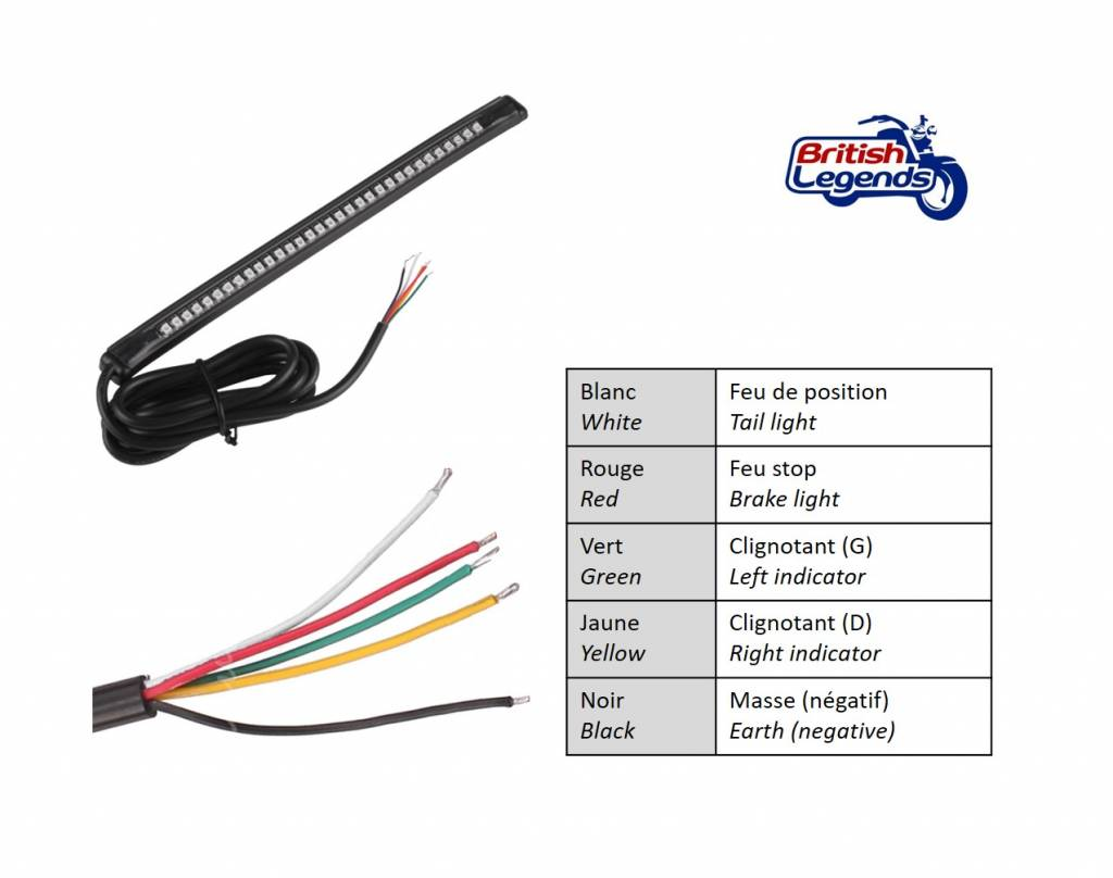 Flexible Led Strip For Motorcycles
