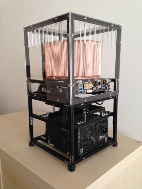 Makerbeam Case For A Fanless Pc Makerbeam
