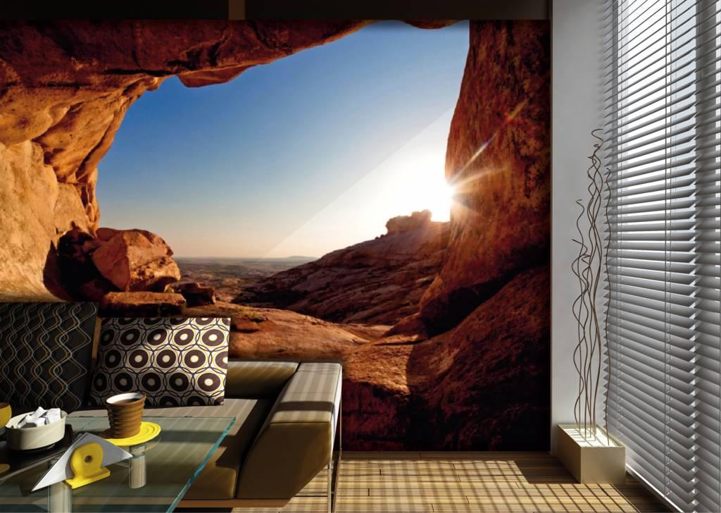 Fotobehang AG Design Sunset 4D - De Behangwinkelier