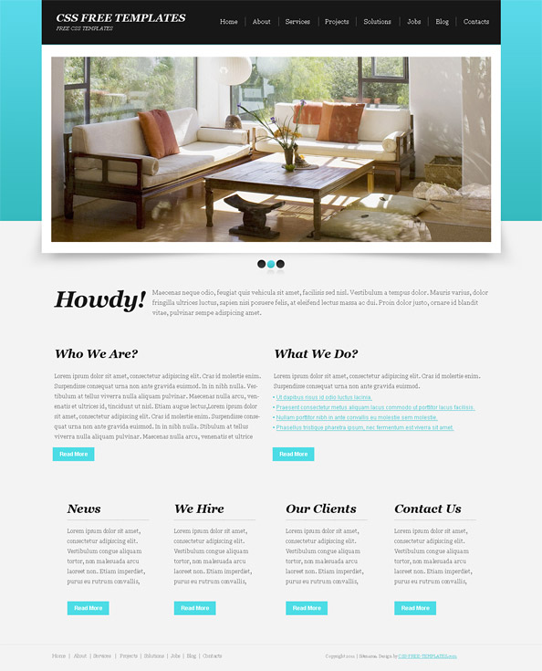 Free CSS Templates CSS Layouts & More