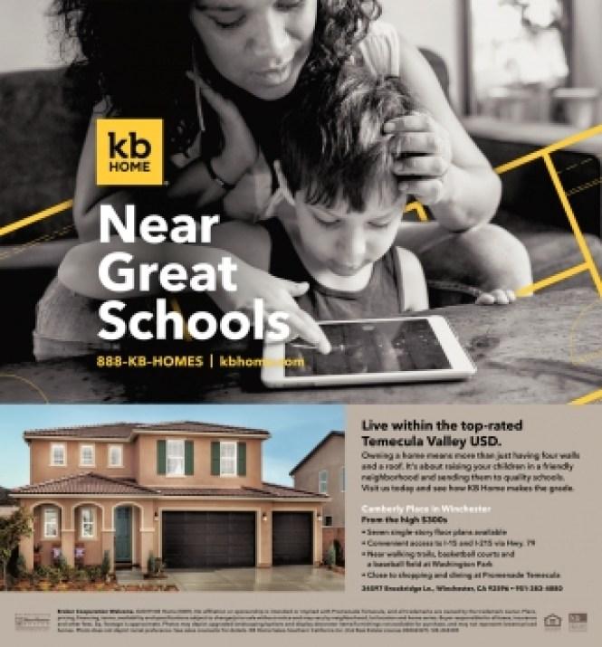 New Kb Homes In Temecula Ca