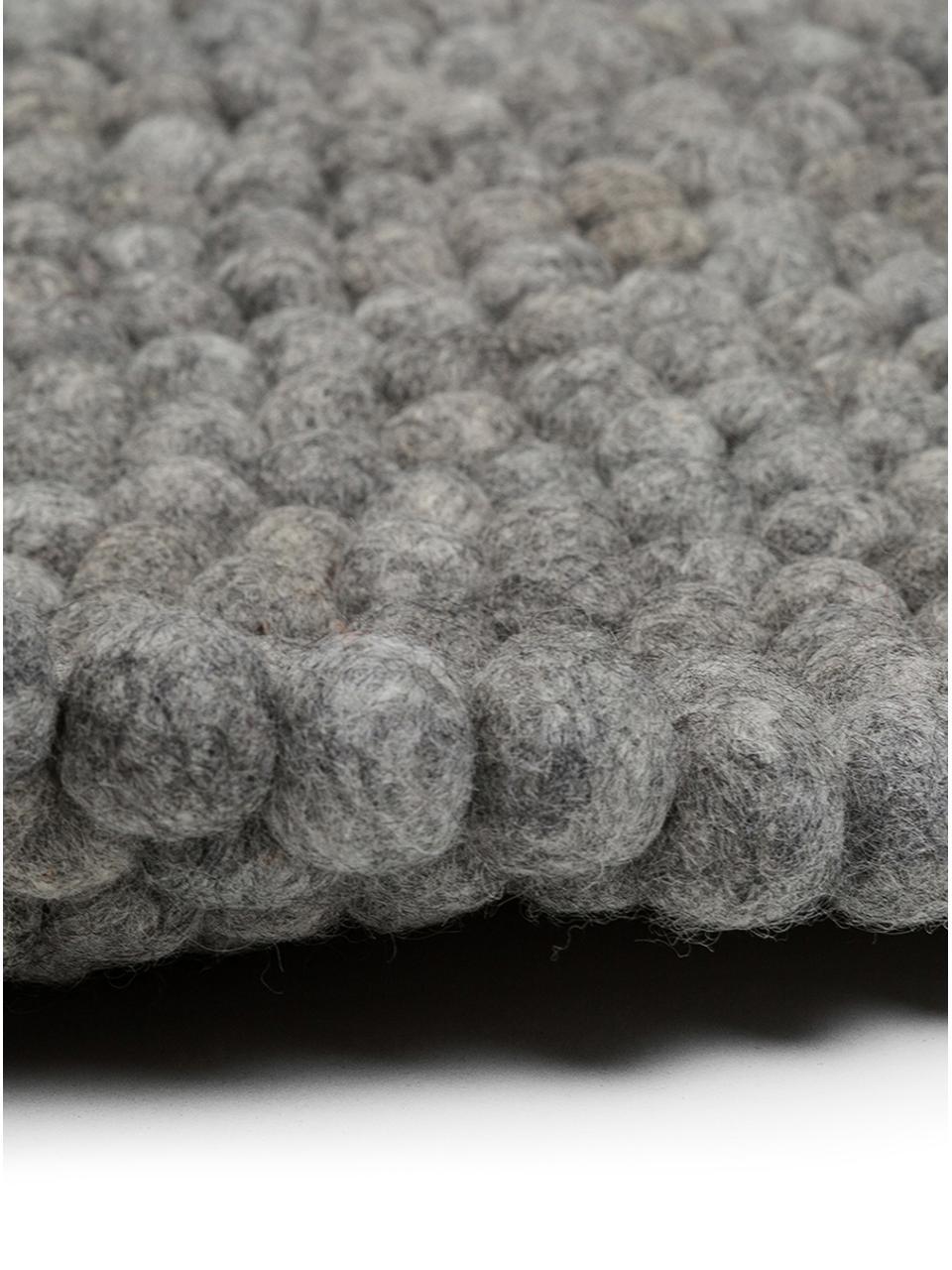 tapis rond pure laine fait main dot