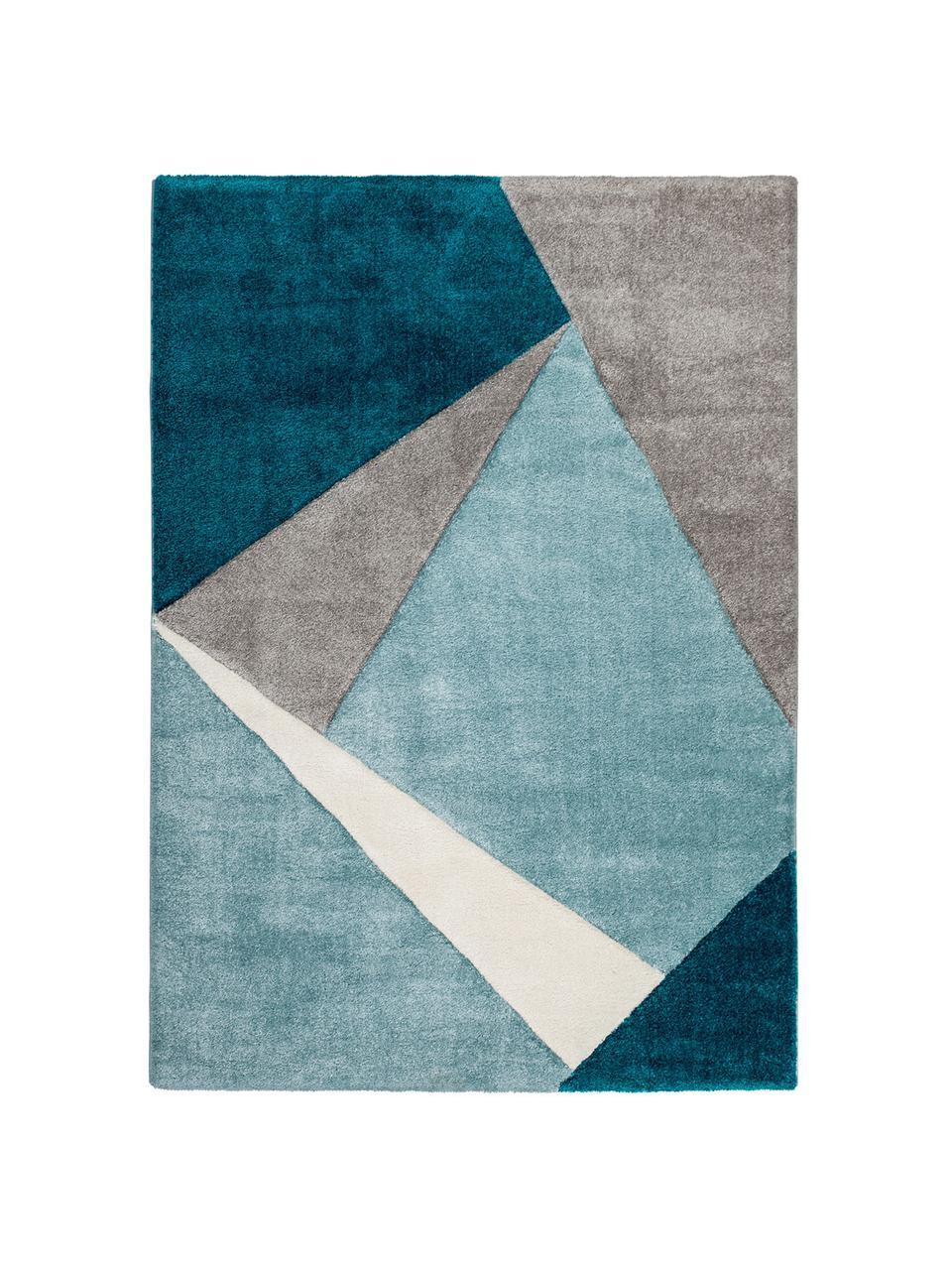 tapis beige bleu my broadway
