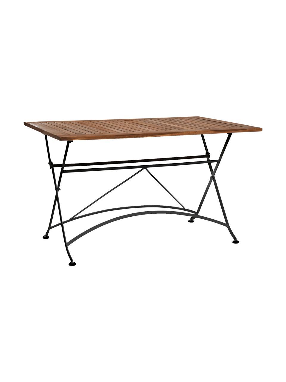 table pliante plateau en bois parklife