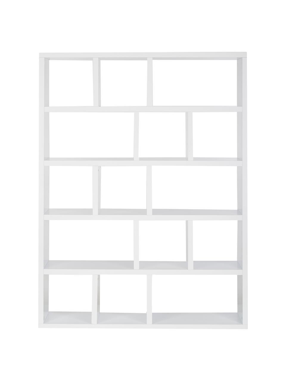 bibliotheque en bois blanc portlyn