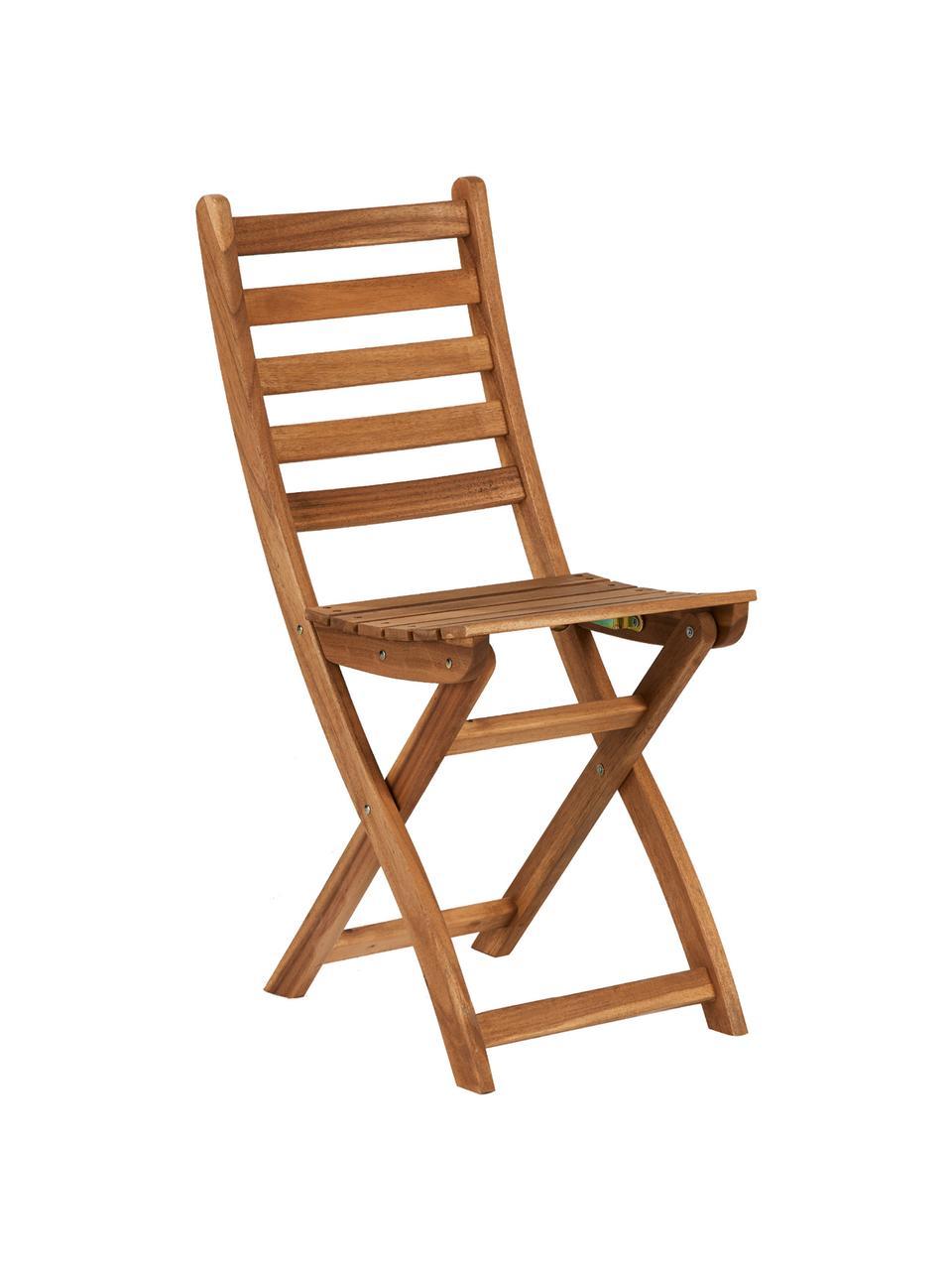 chaise pliante de balcon bois lodge 2 pieces