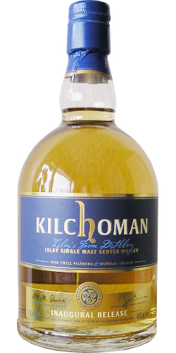 Kilchoman Inaugural Release 2009. Image from Whiskybase