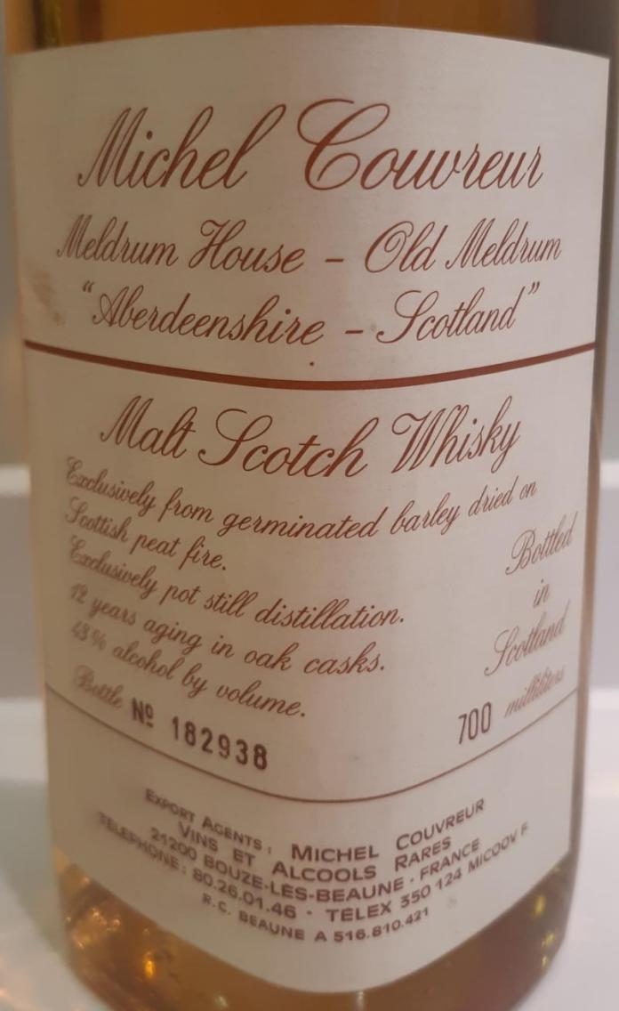 Michel Couvreur 12 Year Old Mco Ratings And Reviews Whiskybase