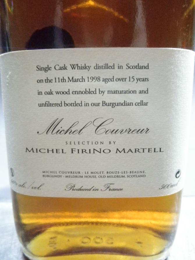 Michel Couvreur 1998 Mco Ratings And Reviews Whiskybase