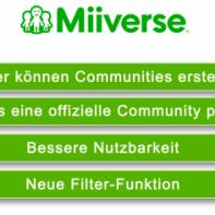 Neue MiiVerse-Funktionen