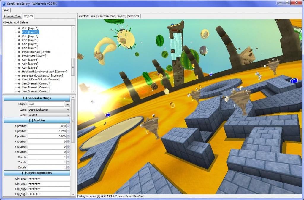 Whitehole – Super Mario Galaxy 1 & 2 Level-Editor   WiiDatabase