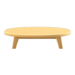 wooden low table animal crossing wiki
