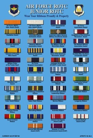 ribbons jrotc wiki fandom