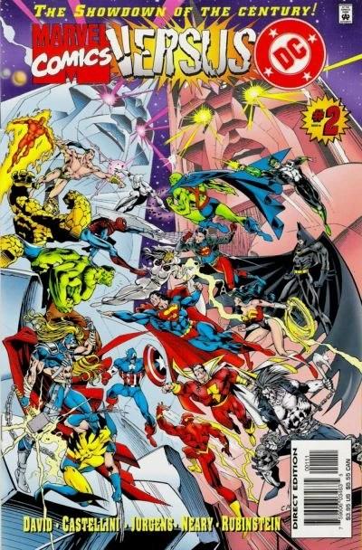 marvel versus dc vol 1 2 marvel