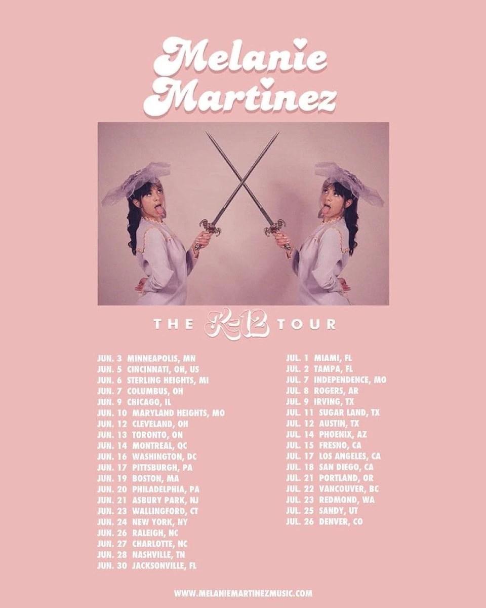 k 12 summer tour melanie martinez