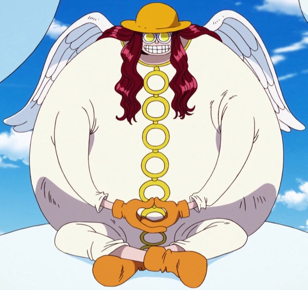 He rules as a god a kingdom in the clouds with. Satori Wikia One Piece Fandom