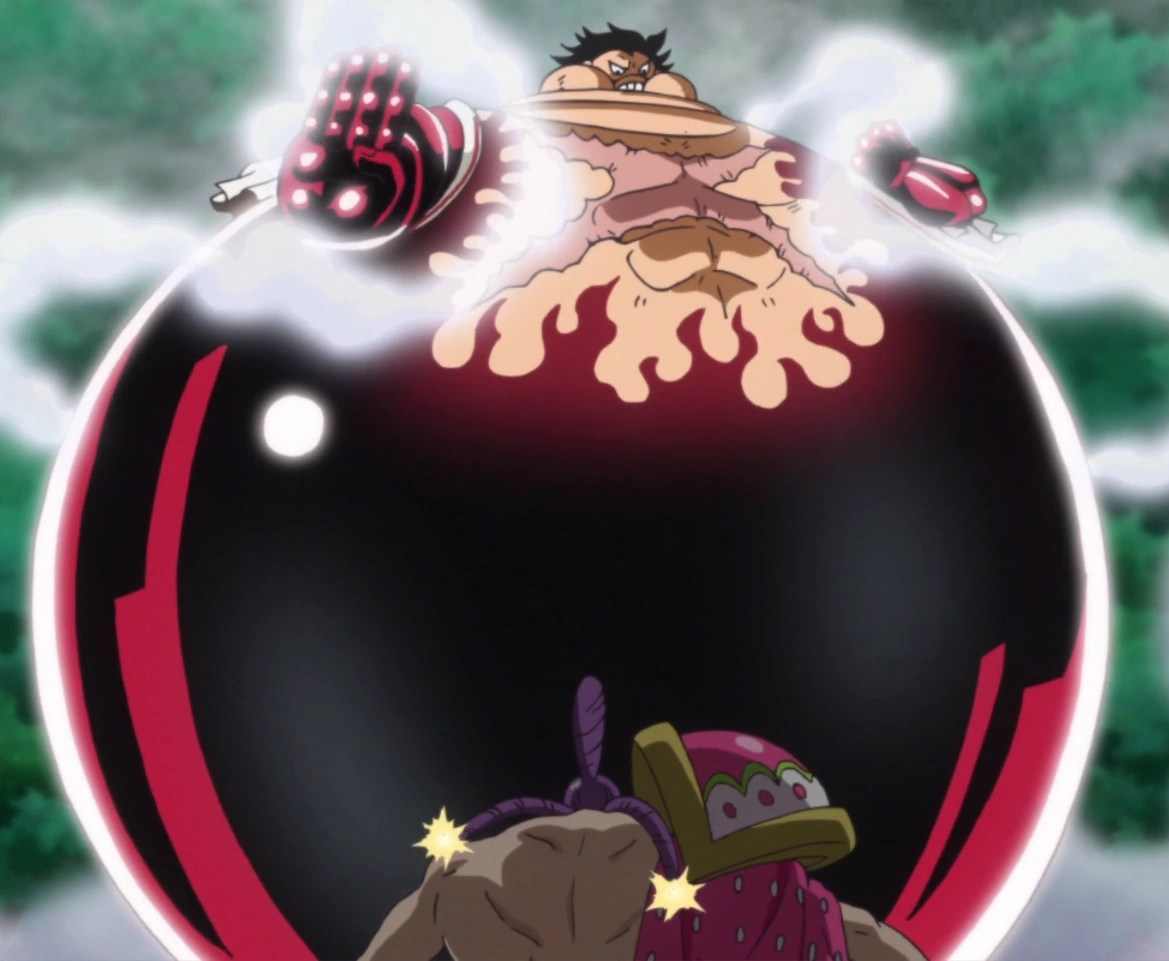 Doflamingo laughs off his transformation but before he can even prepare himself, luffy speed blitzes him using this technique. Gomu Gomu No Mi Gear Fourth Techniques One Piece Wiki Fandom