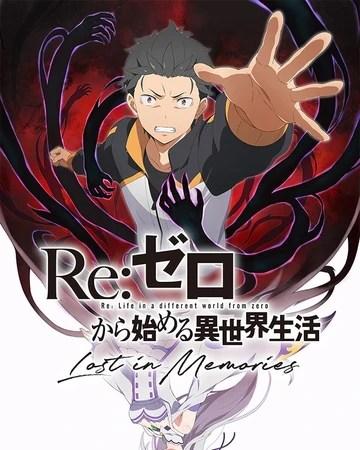 re zero lost in memories re zero wiki