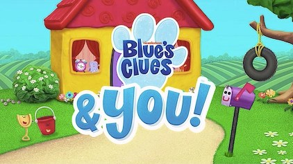 (takes a deep breath) okay, so we'll play blue's clues to figure out what blue wants with her snack. Blue S Clues You Blue S Clues Wiki Fandom