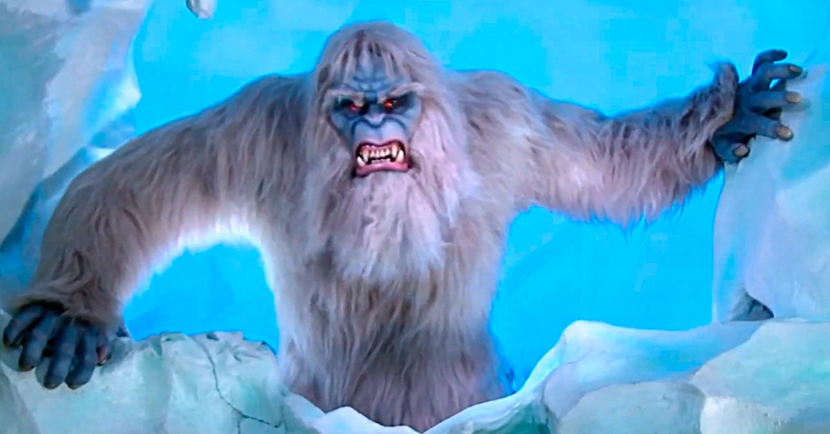 Just a young man with a big dream. Yeti Matterhorn Bobsleds Villains Wiki Fandom