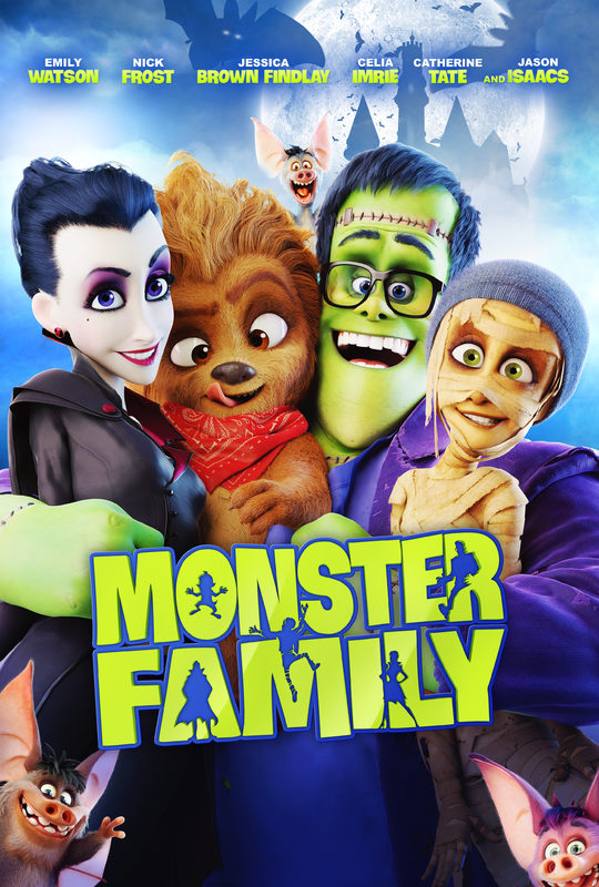 Monster Family starring Emily Watson in theaters 2918