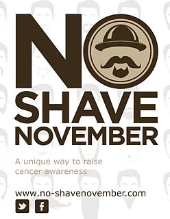 no shave november flyer 2013