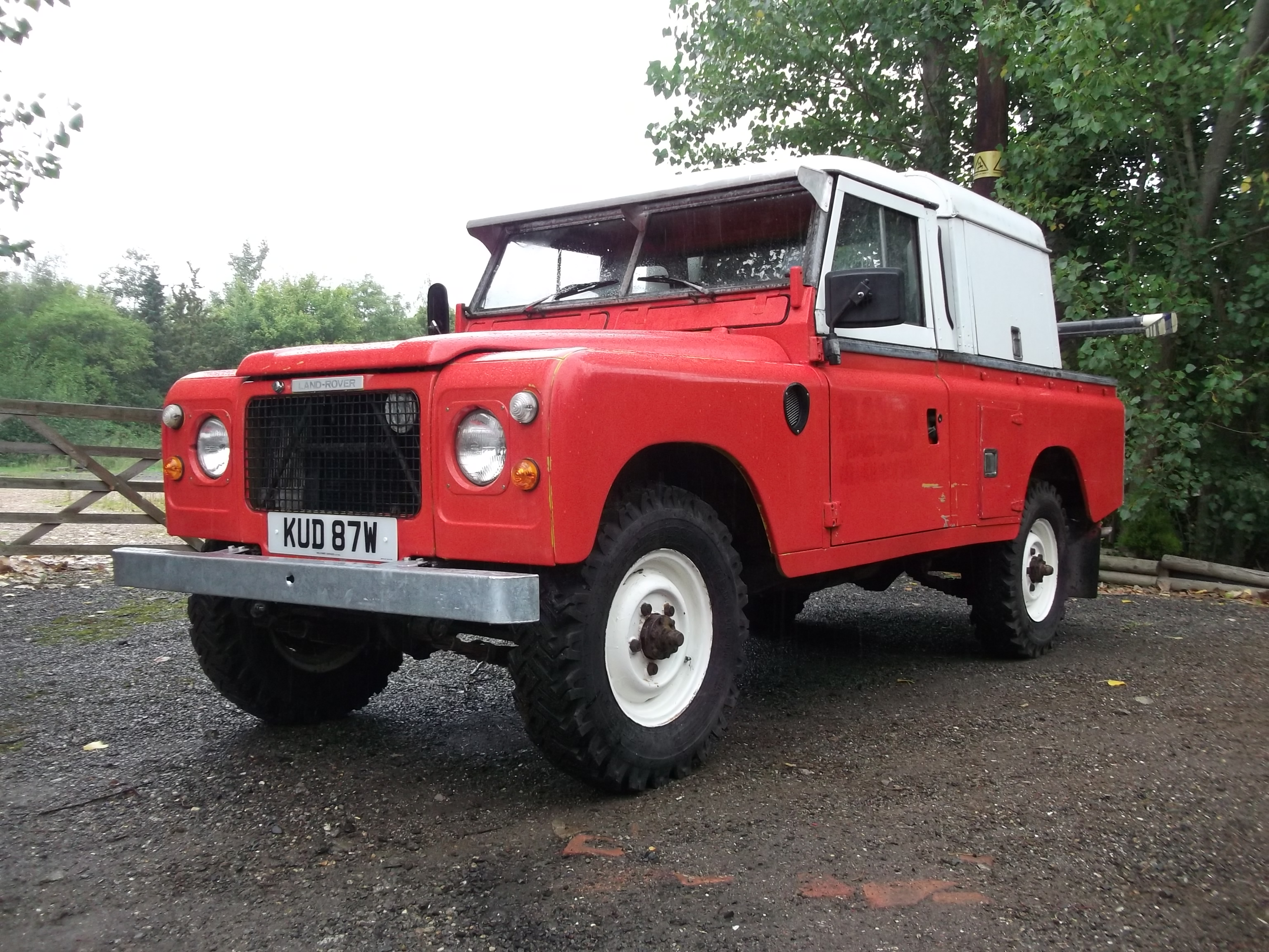 Land Rover with Spec Lift